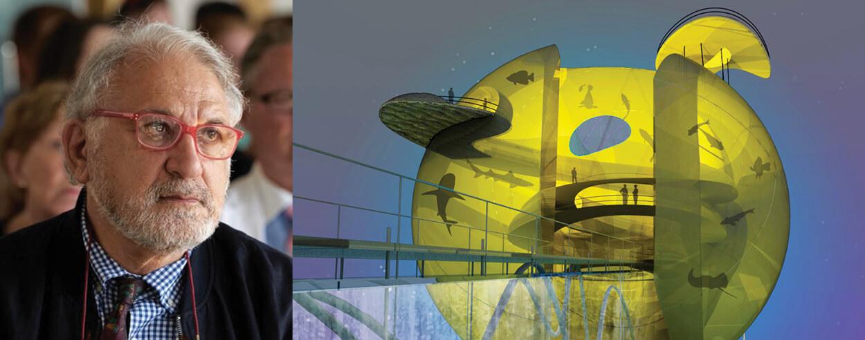 Architect & artist Nishan Kazazian identifies his work as an archaeological layering