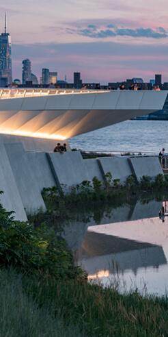 Waste to wonder: waterfront park in New York