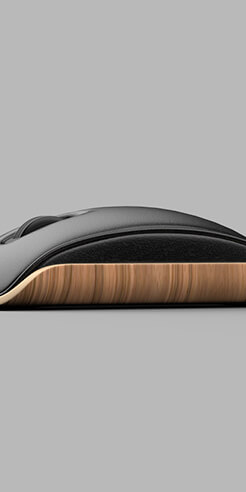 A mouse inspired by the iconic Eames' chair by Shane Chen