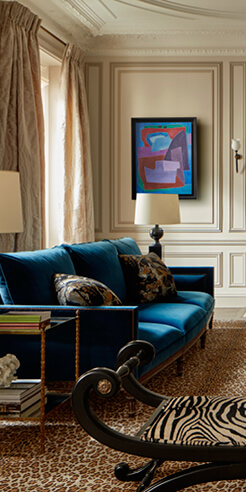 Champeau and Wilde fuse the old with the beautiful in this Paris apartment