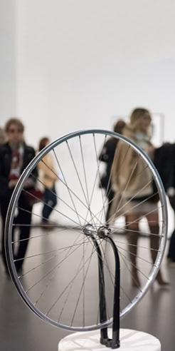 Modern triad: Duchamp, Warhol and Eisenstein works at the MoMA