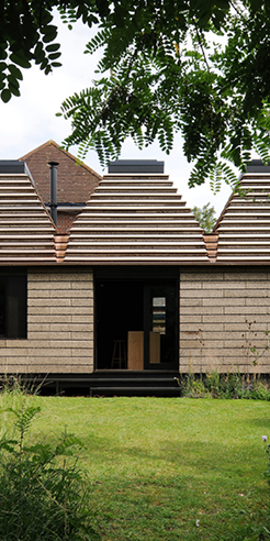 The Cork House in Berkshire is shortlisted for RIBA Stirling Prize 2019
