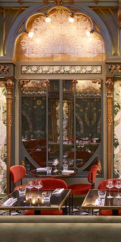 Restoration period - at the Beefbar in Paris