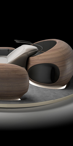 ZHVR Group reveals design of LOOP - an immersive sound lounge