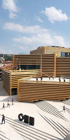 Kengo Kuma's Odunpazari Modern Museum (OMM) marries art, design and history
