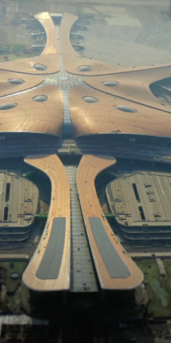 Beijing Daxing International Airport by Zaha Hadid Architects (ZHA) opens in China