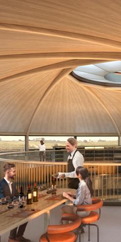 Foster + Partners envisions a sunken winery for Le Dôme in Saint-Émilion