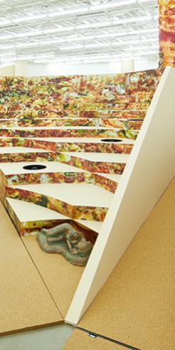 The pizza-shaped Art Sonje Center gets a <em>Delivery</em> from artist Donghee Koo