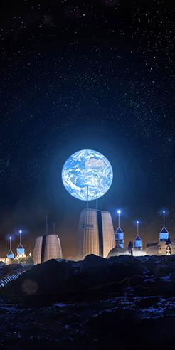 Architecture firm SOM designs 'Moon Village', a full-time lunar habitat