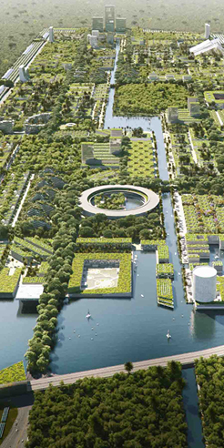 Smart Forest City concept by Stefano Boeri entwines nature and urban fabric in Mexico