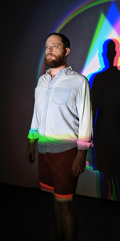 Center for the Holographic Arts in New York presents an exhibition on light art