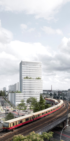 David Chipperfield Architects wins contest to design a high-rise tower in Mitte, Berlin