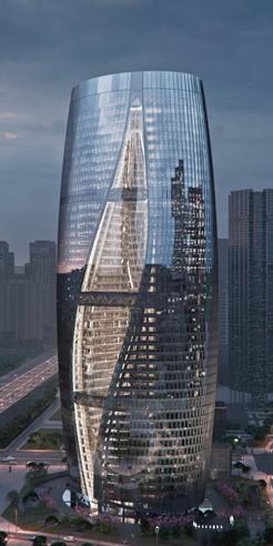 Zaha Hadid Architects' Leeza Soho with the world's tallest atrium, opens in Beijing