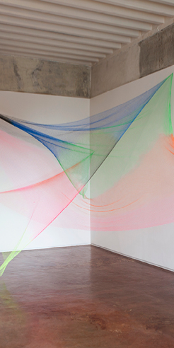 The weightlessness of Rana Begum's alchemy of light, colour and material