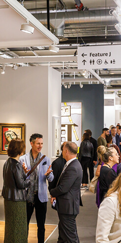 Art Basel embraces technology to enhance art viewing, not replacing physical fairs