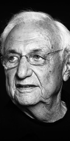 Frank Gehry, the champion of dancing buildings and crunched forms