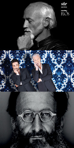 Miss You, Milan: Ross Lovegrove, Marcel Wanders, Michele De Lucchi in reflection