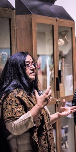 Roobina Karode of Kiran Nadar Museum of Art deliberates on the art ecosystem