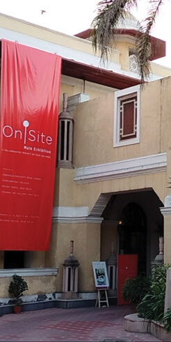 'On-site' at New Delhi's Bikaner House brings four leading galleries under one roof