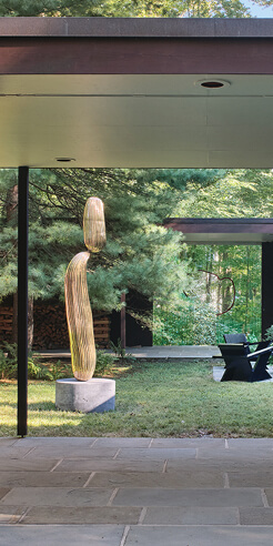 At the Noyes House: coalescing the 'art' and 'house'