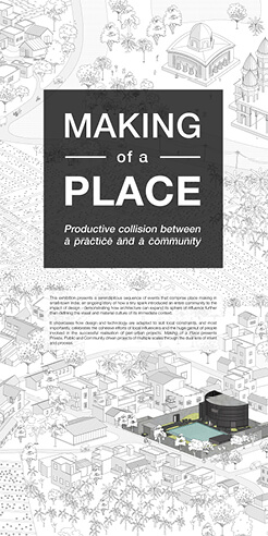 Abin Design Studio presents exhibition on place-making in small-town India