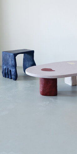 Barbora Žilinskaite personifies furniture with her humane 'Roommates' collection