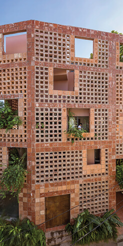Bat Trang House by VTN Architects is a porous, respiring dwelling in ceramic