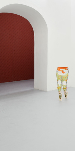 Berenice Olmedo showcases her sculptural series 'Homonyme' at Basement Roma