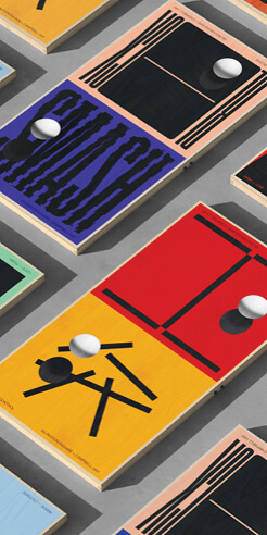 Campbell Hay's vibrant ping pong 'ArtTables' come to life through augmented reality