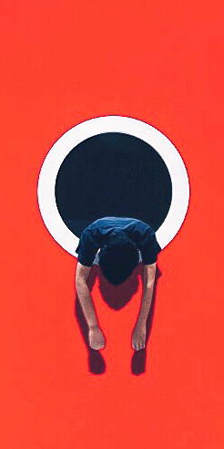 Delve into the colourful, minimalist works of art by Andhika Ramadhian