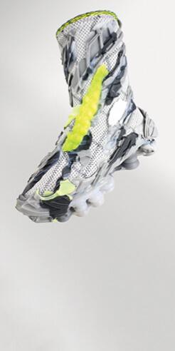 Eidos: fossilised footwear for the future by Polina Krichko and Yaroslav Svyatykh