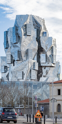 Frank Gehry designs Luma Tower in France to evoke Van Gogh's Starry Night