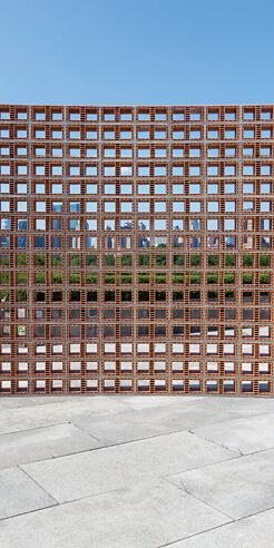 Héctor Zamora creates visual metaphors with vernacular elements on the Met's roof