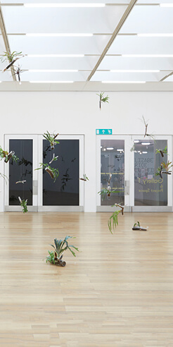 Human presence within the nature comes alive in Daniel Steegmann Mangrané's work