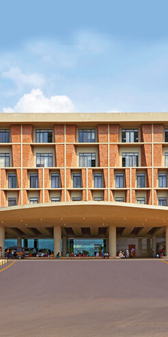 IMK Architects' Symbiosis University Hospital fuses grandeur and functionality