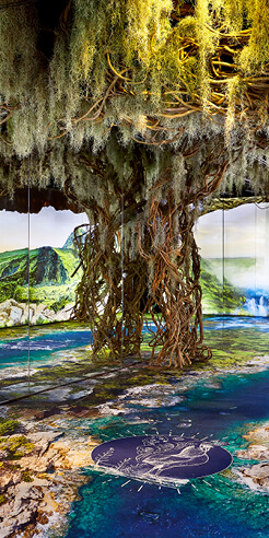 Immersive exhibition 'Arcadia Earth' inspires New Yorkers to save the environment