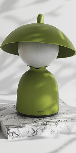 """Jaekyoung Oh captures and expresses """"a child-like innocence"""" with Woo-bi desk lamp"""