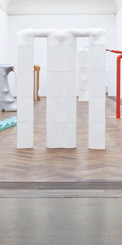 Joachim Bandau's 'Die Nichtschönen: Works 1967–1974' displays 'aesthetic of violence'