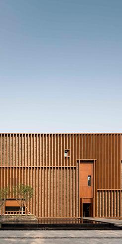 Neri&Hu designs Junshan Cultural Center amid rolling hills outside Beijing