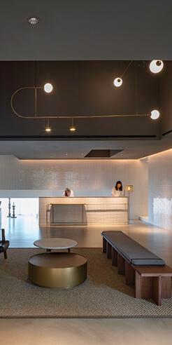 Neri&Hu designs Kimpton Da An hotel as an extension of the street life of Taipei