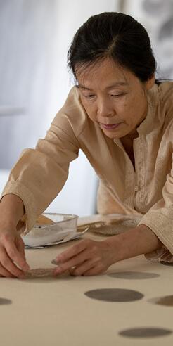 Langen Foundation celebrates top artists of Korean abstraction and Dansaekhwa