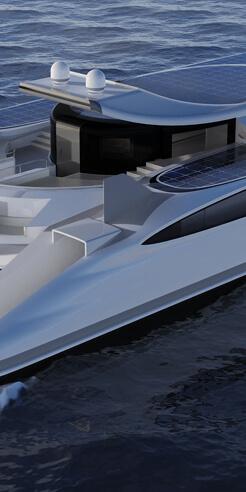 Lazzarini Design Studio's 'Pagurus' is a 'crab-shaped' amphibious catamaran