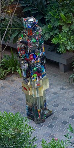 Manush John and Natasha Sharma talk 'trash' through their installation in Bengaluru