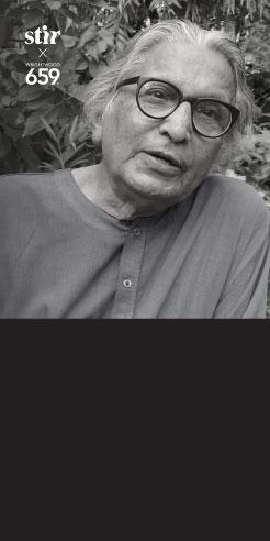 Mastery and Mentorship: a conversation with Balkrishna Doshi and Khushnu Hoof