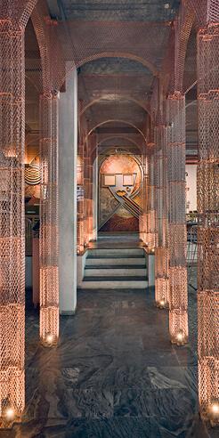 FADD Studio imagines MISU restaurant in Bengaluru as an old, unfinished chapel
