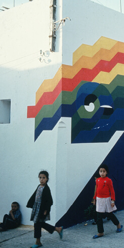 Casablanca through New Waves of Mohamed Melehi's cosmopolitan art