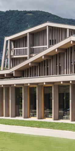 OFIS Architects' Hotel Bohinj renovation combines sustainability and tradition