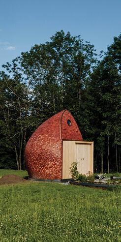 Studio Anna Heringer builds a 'birthing room' prototype in Vorarlberg, Austria