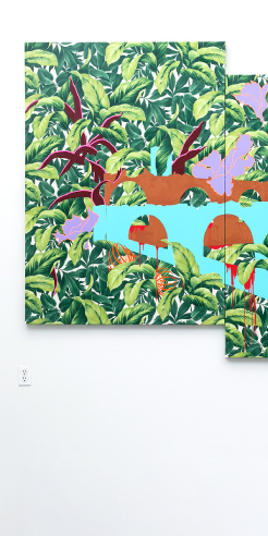 Suchitra Mattai weaves textured narratives in her multimedia art