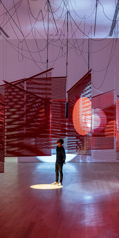 Haegue Yang exhibits solo show <em>In the Cone of Uncertainty</em> at The Bass, Miami Beach